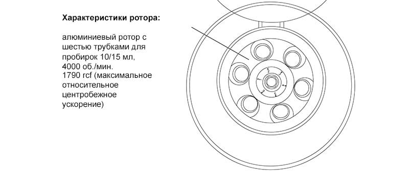 схема ротора