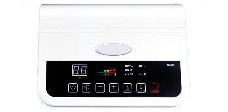 інтерфейс апарату для фонофорезу і електрокоагуляції