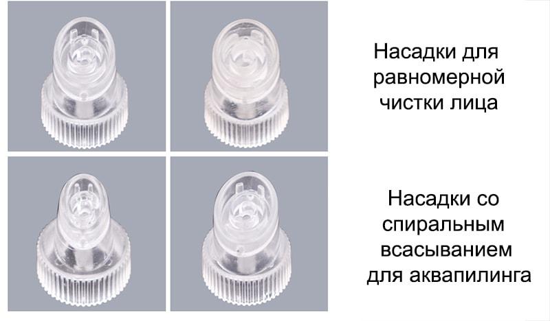 Спіральні насадки для аквапілінгу