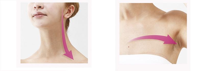 Масажні лінії шия і декольте