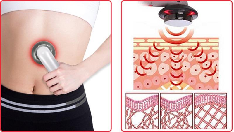 работа устройства для похудения