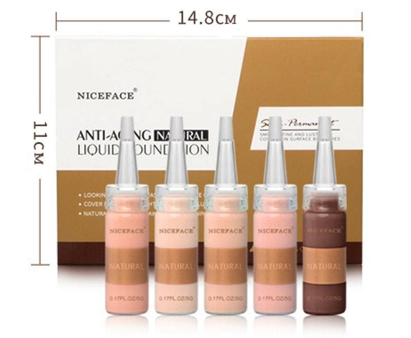 размер упаковки набора кремов bb глов