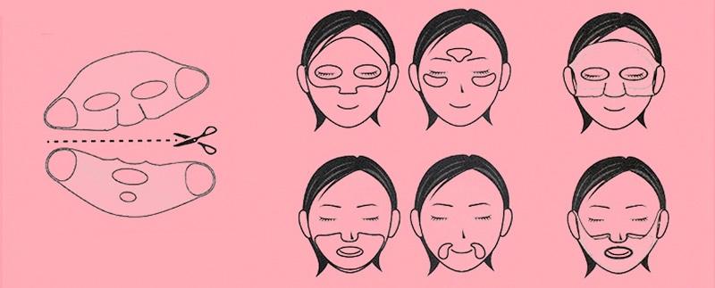 силиконовая маска для лица