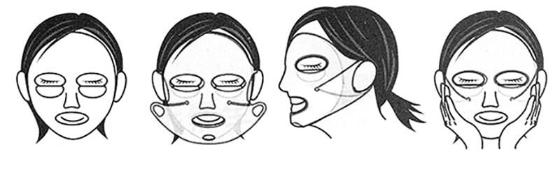 маска для лица из силикона
