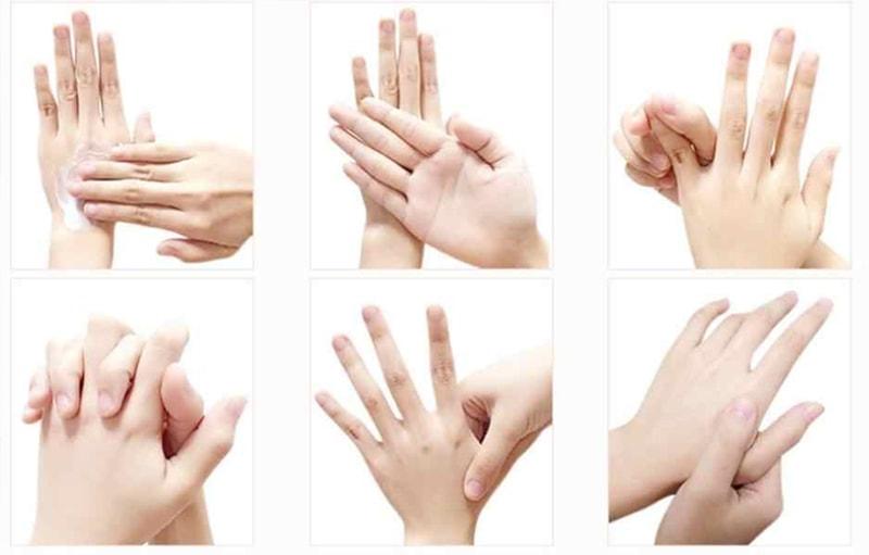 как наносить крем на руки?