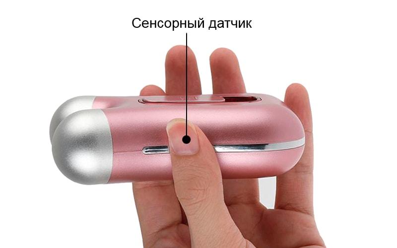Аппарат микротоковой терапии и сенсорные датчики
