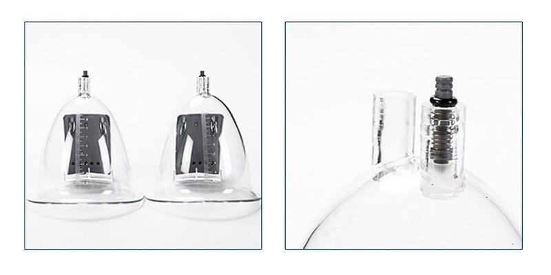 Инфракрасные насадки (банки) аппарата вакуумного массажа для груди и ягодиц LAFO LF-922