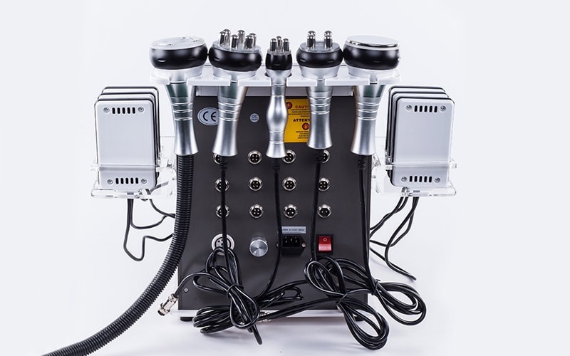 Комбайн косметологический (кавитация, RF, вакуум, лазерный липолиз) GBT AU-61B