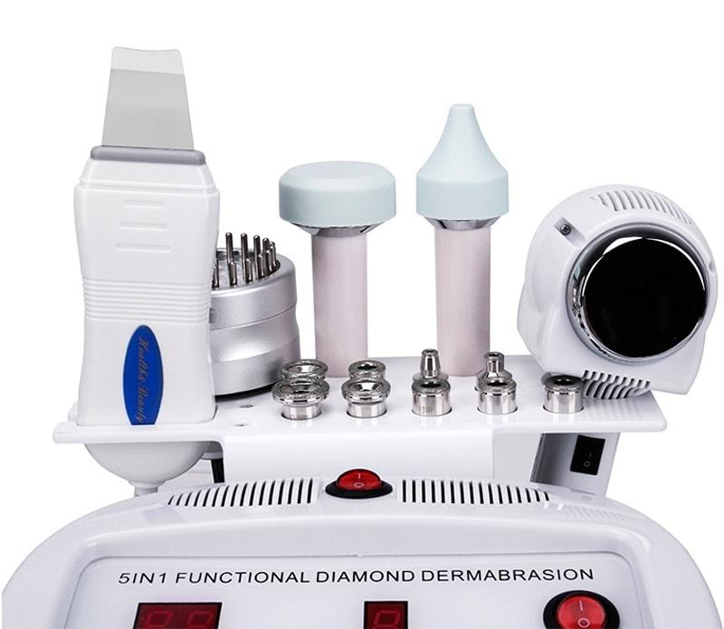 Косметологические насадки для процедур чистки кожи