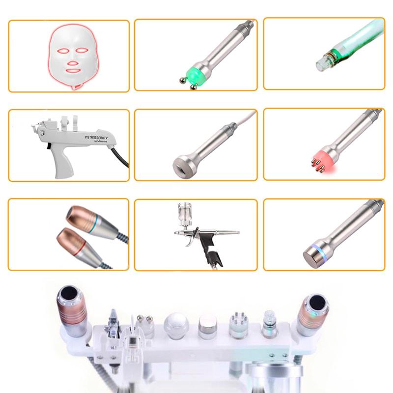 Насадки косметологічного комбайна A000-33 (10 до 1)