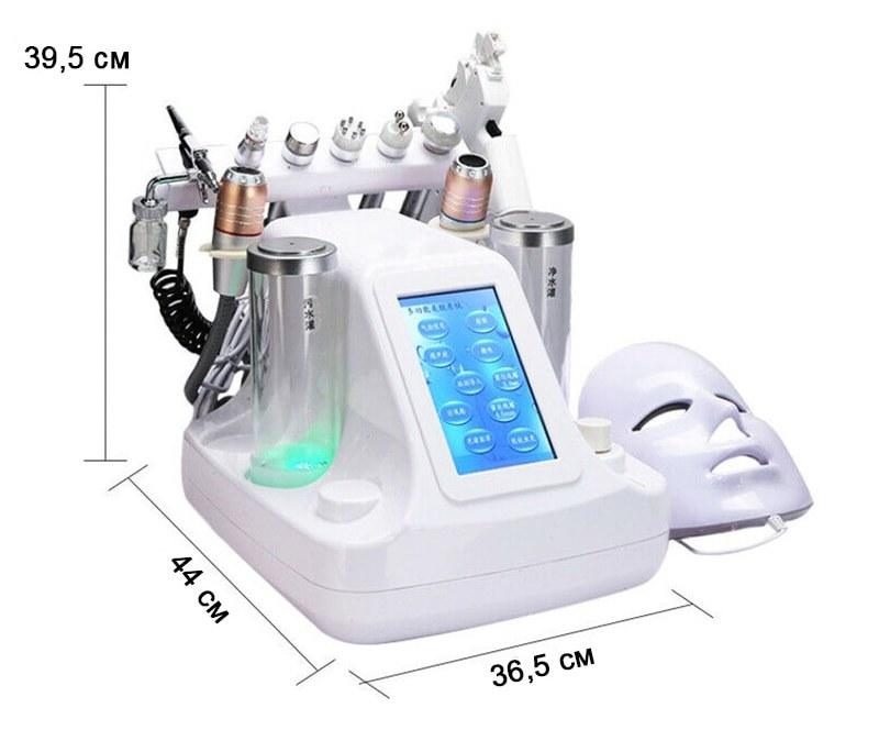 Розмір Комбайна гідродермабразії і ліфтингу A000-33 (10 до 1)