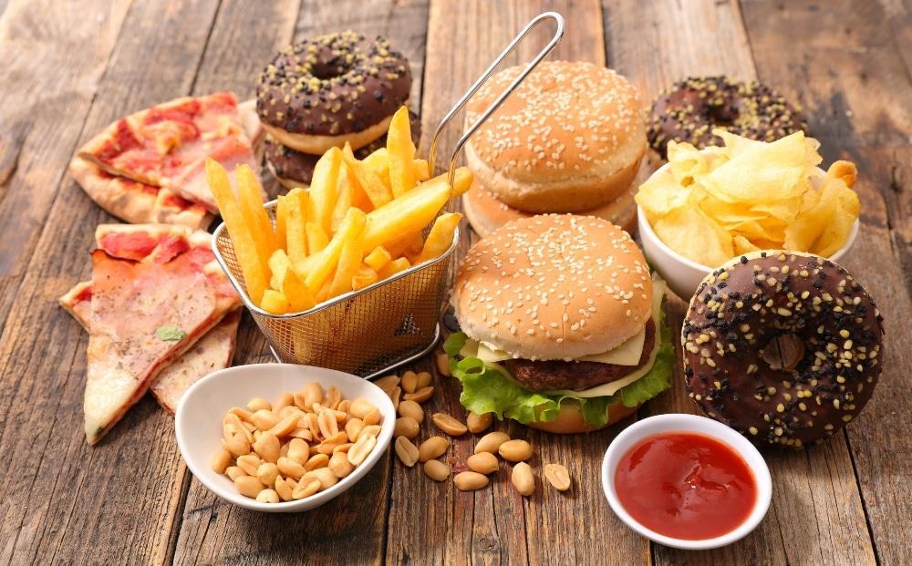 неправильное питание и прыщи