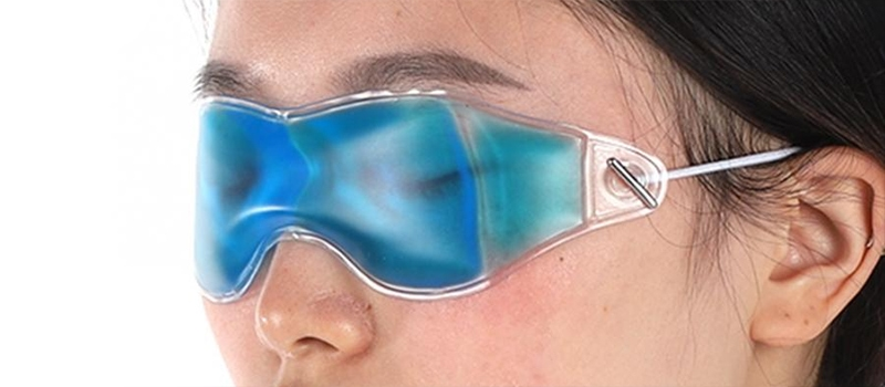 Гелеві окуляри охолоджуючі і зігріваючі