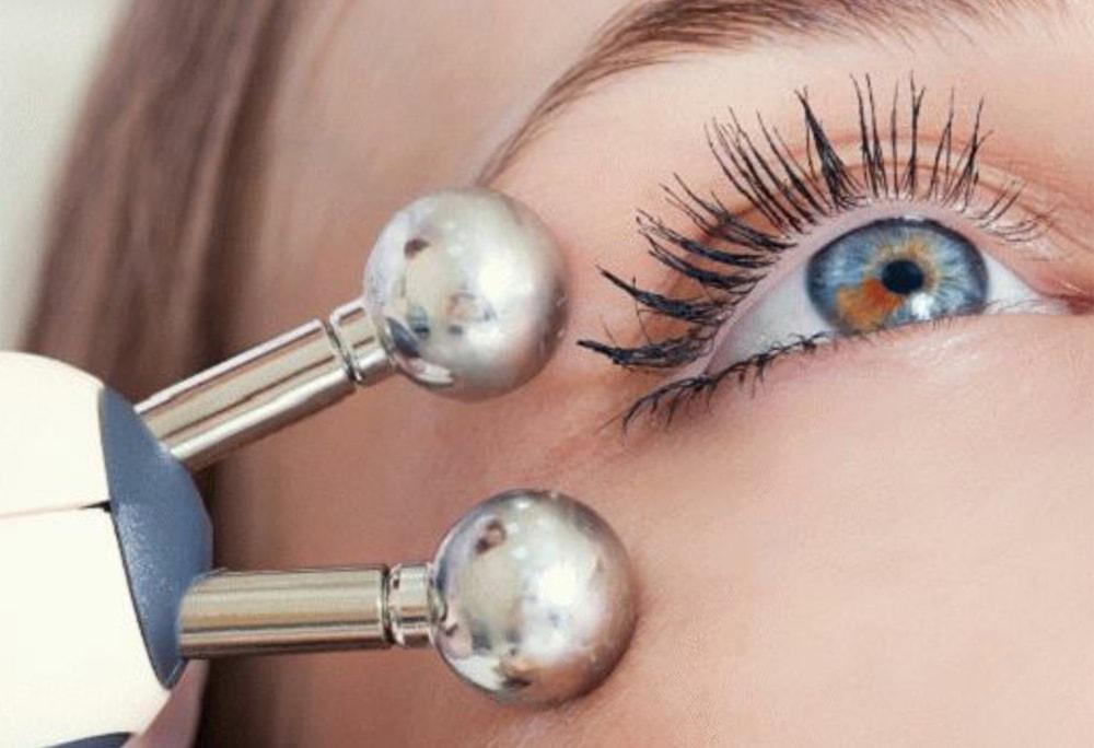микротоки для кожи вокруг глаз