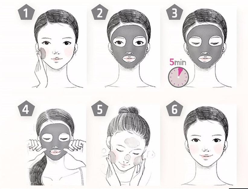 як користуватися коллагеновой маски
