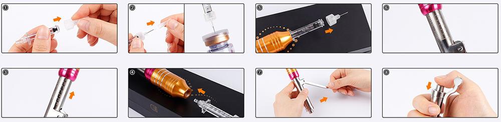 как пользоваться гиалурон пен инструкция
