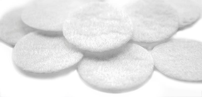 хлопковые фильтры 2,5 см