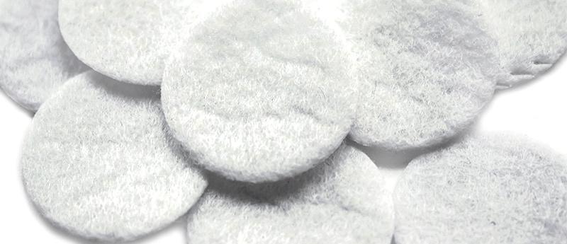 фильтры хлопковые 2,5 см