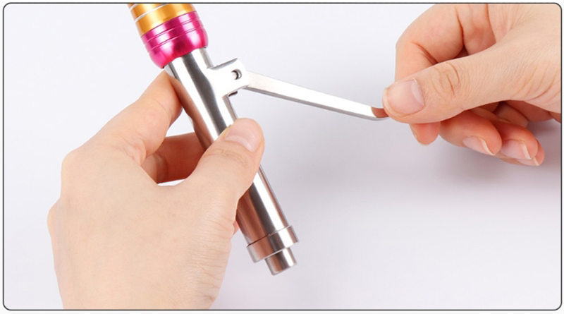 Принцип работы безыгольного инжектора Hyaluron Pen