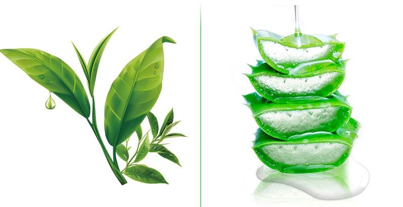 рослинні екстракти в складі масок