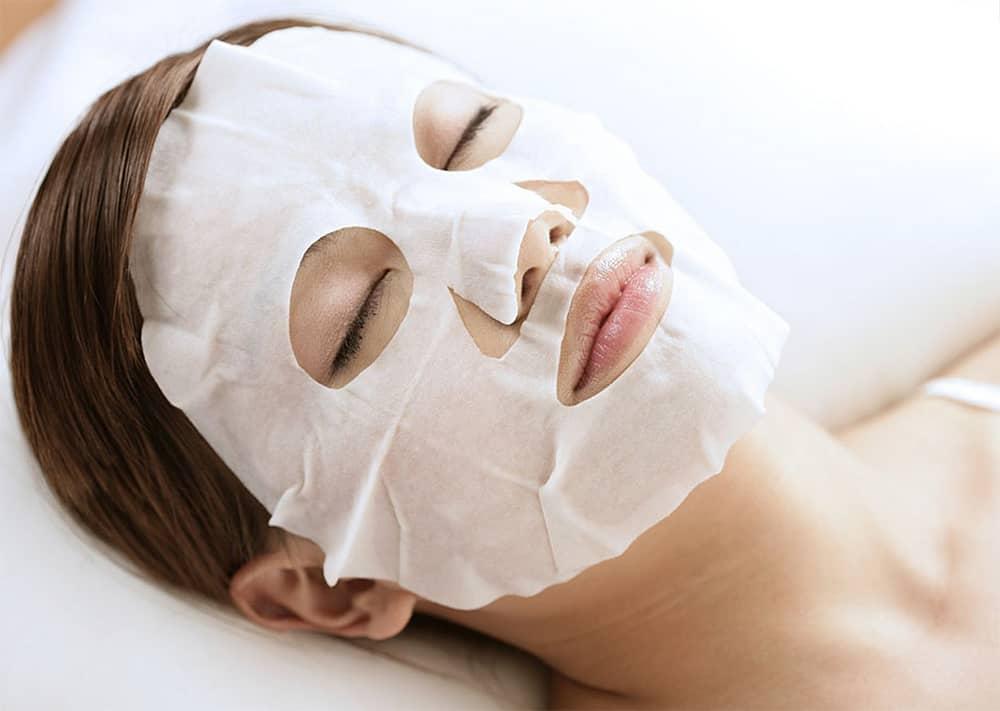 Тканевые косметологические маски