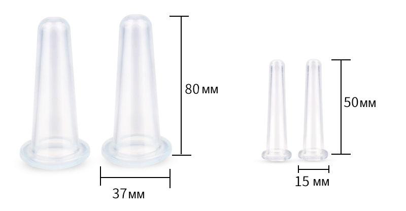 размер силиконовых баночек