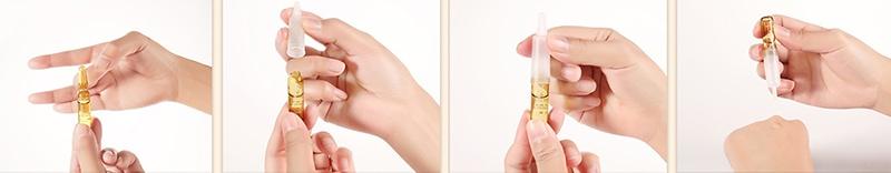 как открыть и пользоваться ампулой с сывороткой