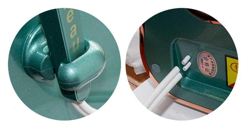 елементи апарату для гідродермабразії