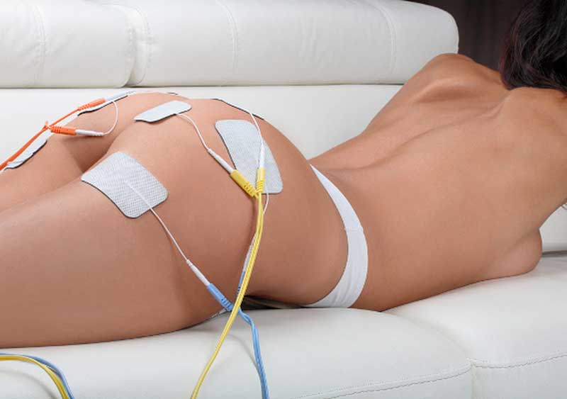 работа аппарата для миостимуляции мышц