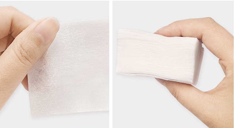 набір серветок з бавовняної тканини для очищення шкіри