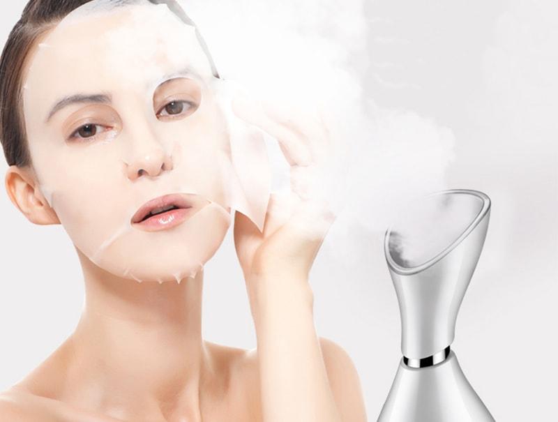 використання електричної сауни для обличчя