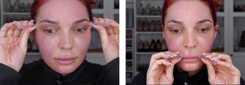 техника баночного массажа для кожи вокруг глаз