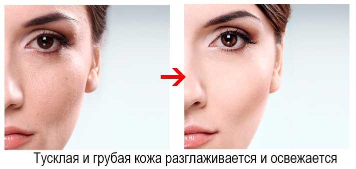 ефект від використання сироватки