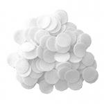 Бавовняні фільтри 10 х 10 мм для апаратів мікродермабразії і вакуумної чистки і масажу .