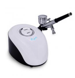 Кисневий розпилювач (аерограф) для оксітерапіі (mini air compressor) для догляду за шкірою BT-19 фото 5