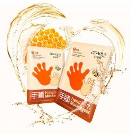 Маска-перчатки для рук с медом увлажняющая Bioaqua Honey Soft (1 пара) фото 2