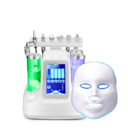 Косметологический комбайн гидродермабразии и лифтинга (7 в 1)