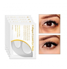 Белая коллагеновая маска для кожи вокруг глаз Lanbena (Crystal Eye Mask) (3 мл.) фото 4