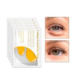 Желтая коллагеновая маска для кожи вокруг глаз Lanbena (Crystal Eye Mask) (3 мл.) фото 5