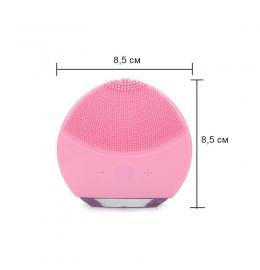 Силіконова щітка-масажер для чищення обличчя Forever Luna mini 2 фото 4