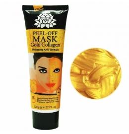 Золотая маска от морщин с коллагеном фото 2