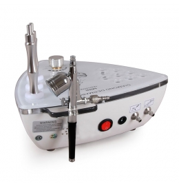 Апарат 2 в 1 для механічної шліфовки шкіри з кисневим розпилювачем (мікродермабразія) LB - 197 фото 6