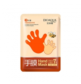 Маска-перчатки для рук с медом увлажняющая Bioaqua Honey Soft (1 пара) фото 3