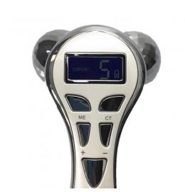Роликовый массажер для лица и тела 4D КM - 828 с микротоками  фото 5