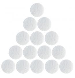 Хлопковые фильтры 25 х 25 мм для аппаратов микродермабразии и вакуумной чистки и массажа 100 шт. фото 4