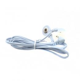 Дріт з'єднувальний для апарату міостімуляциі на 2 електрода з кнопковим з'єднанням фото 2
