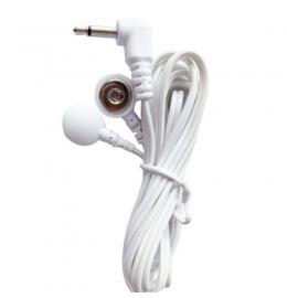 Дріт з'єднувальний для апарату міостімуляциі на 2 електрода з кнопковим з'єднанням фото 3