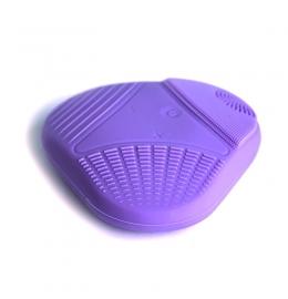 Очищающая электрическая силиконовая щетка для лица  Cleaning Brush 021 фото 3