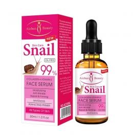 Освітлююча і зволожуюча сироватка Skin Care Snai
