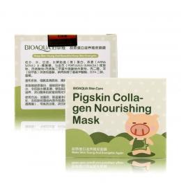 Омолоджуюча маска для обличчя та шиї з колагеном Bioaqua фото 6